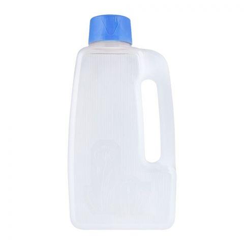 Lion Star Flower Water Bottle, Blue, 2.3 Liters, F-2