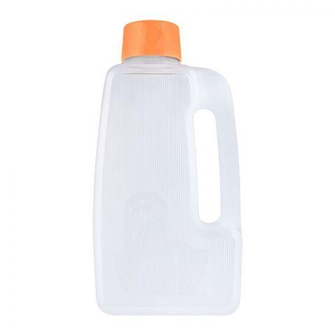 Lion Star Flower Water Bottle, Orange, 2.3 Liters, F-2