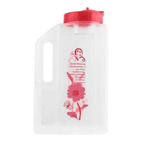 Lion Star Jumbo Water Bottle, Pink, 3 Liters, J-5
