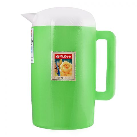 Lion Star Thermo Water Jug, Green, 1.7 Liters, K-7