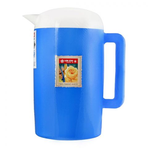 Lion Star Thermo Water Jug, Blue, 1.7 Liters, K-7