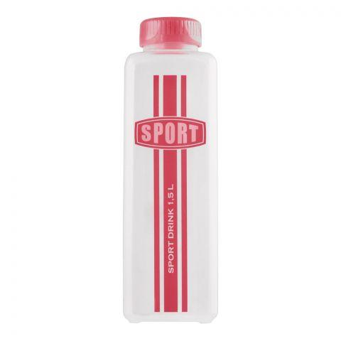 Lion Star Sport Water Bottle, Pink, 1.5 Liters, L-4