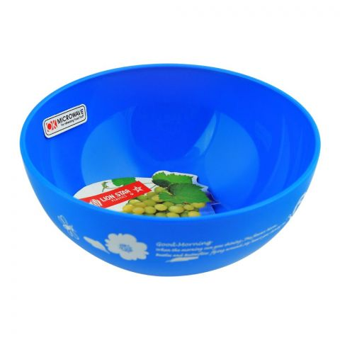 Lion Star Ruby Microwave Bowl, Blue, 450ml, MW-17