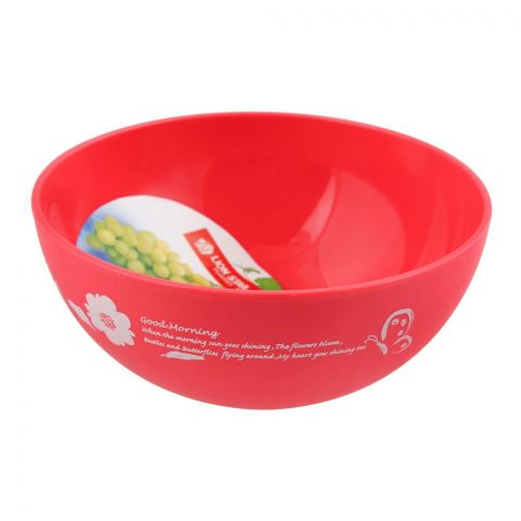 Lion Star Ruby Microwave Bowl, Pink, 450ml, MW-17