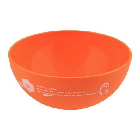 Lion Star Ruby Microwave Bowl, Orange, 450ml, MW-17