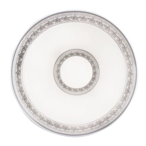 Sky Melamine Bowl, Grey 9 Inches