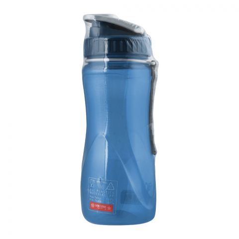 Lion Star Gym Sport Water Bottle, Blue, 600ml, NN-97