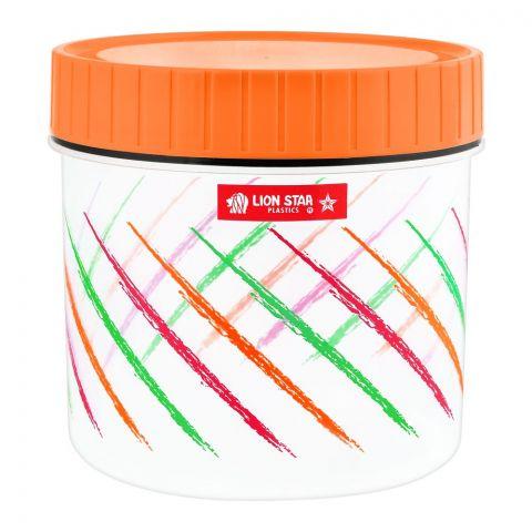 Lion Star Tiffany Candy Pot Multi-Purpose Container, Orange, Small, PTT-19