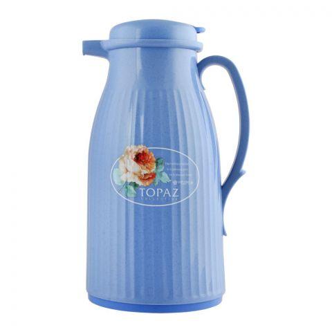 Lion Star Vacuum Flask Athena Thermos, Blue, 1 Liter, VA-1