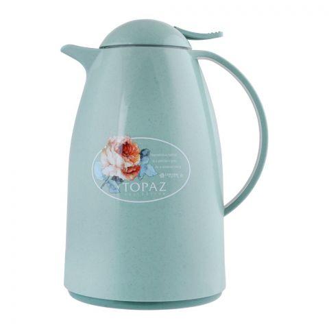 Lion Star Vacuum Flask Turino Thermos, Green, 1 Liter, VA-2