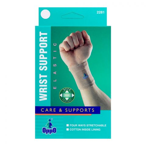 Oppo Medical Elastic Wrist Support, XL, 2281