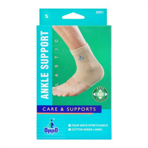 Oppo Medical Elastic Ankle Support, Small, 2001
