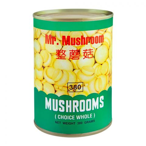 Mr. Mushroom Whole Mushrooms, 380g