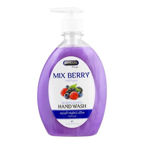 Hemani Berrrylicious Hand Wash, Mix Berry, 500ml