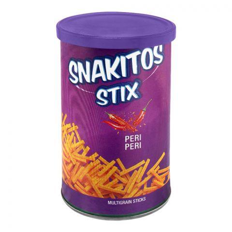 Snakitos Stix Multigrain Potato Sticks, Peri Peri, 45g