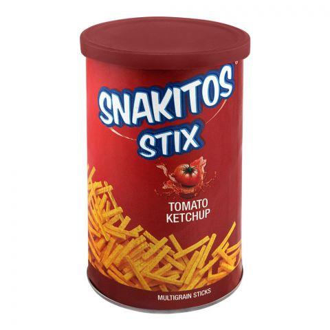 Snakitos Stix Multigrain Potato Sticks, Tomato Ketchup, 45g