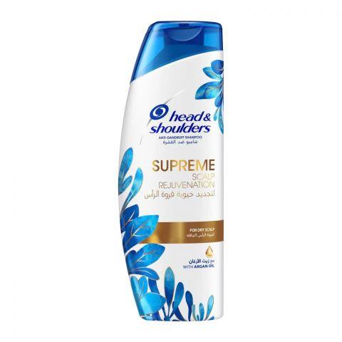 Head & Shoulders Supreme Scalp Rejuvenating Anti-Dandruff Shampoo, For Dry Scalp, 200ml