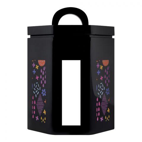Kaligon Ultra Air Tight Storage Jar, Black, Small