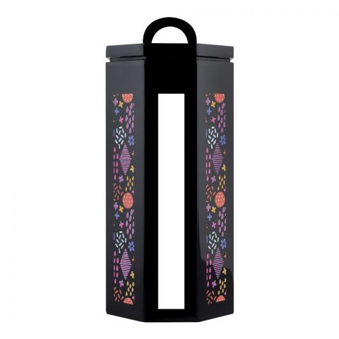 Kaligon Ultra Air Tight Storage Jar, Black, Large
