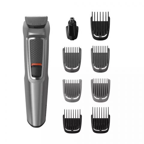 Philips Multigroom Series 3000 All In One Trimmer, 9 Tools, MG722/33