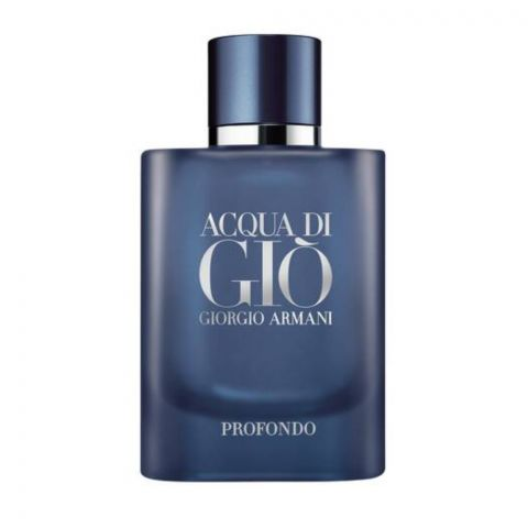 Giorgio Armani Acqua Di Gio Profondo Eau De Parfum, Fragrance For Men, 125ml