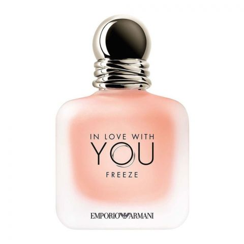 Giorgio Armani In Love With You Freeze Eau De Parfum, Fragrance For Women, 100ml