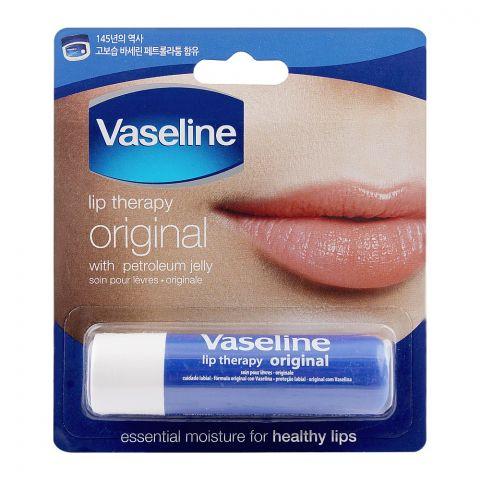 Vaseline Lip Therapy, Original, 4.8g
