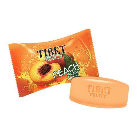 Tibet Fruity Soap, Peach, 140g