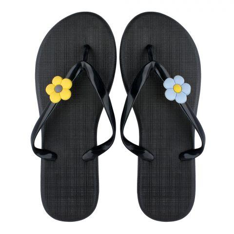 Women's Slippers, G-6, Black