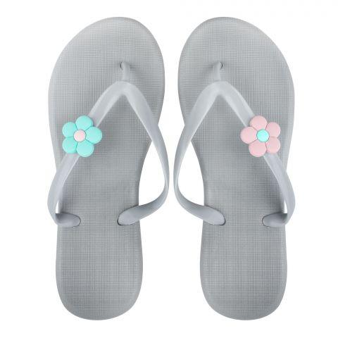 Women's Slippers, G-6, Grey