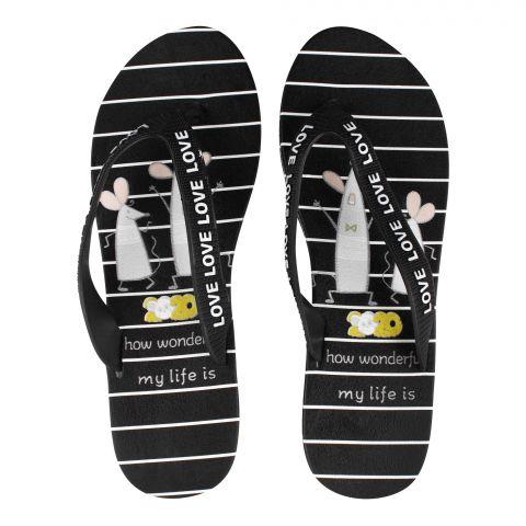 Women's Slippers, G-13, Black