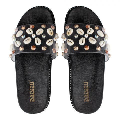 Women's Slippers, G-15, Black