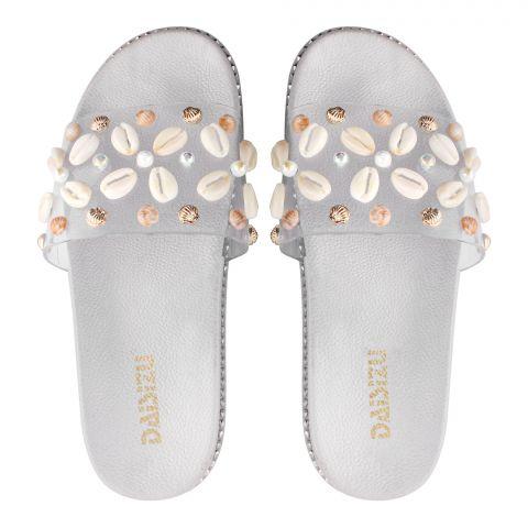 Women's Slippers, G-15, Grey