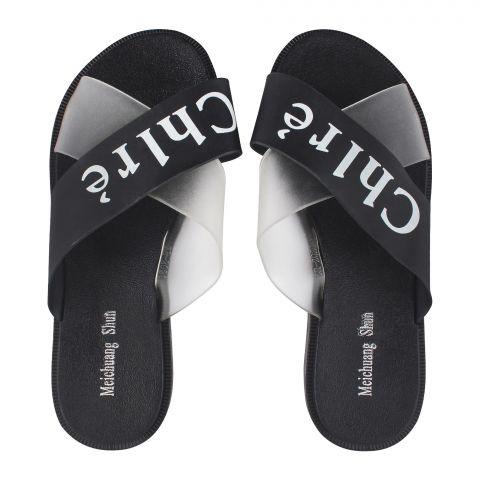 Women's Slippers, G-16, Black