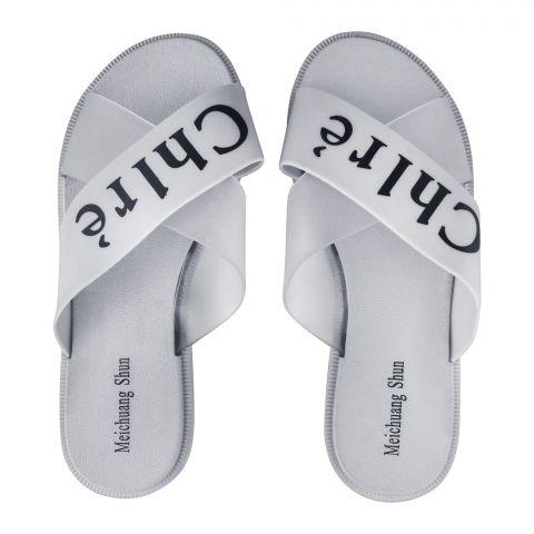 Women's Slippers, G-16, Grey