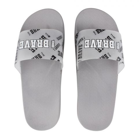 Men's Slippers, G-17, Grey