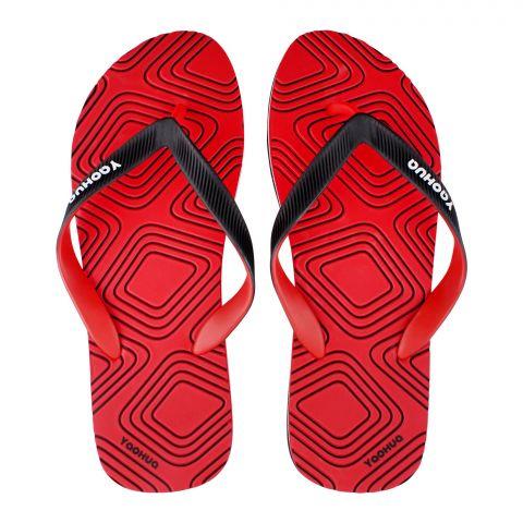 Men's Slippers, G-19, Red