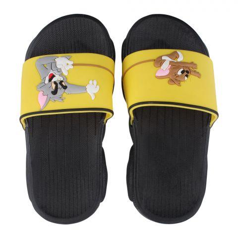 Kid's Slippers, G-22, Black