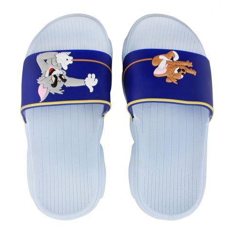 Kid's Slippers, G-22, Blue