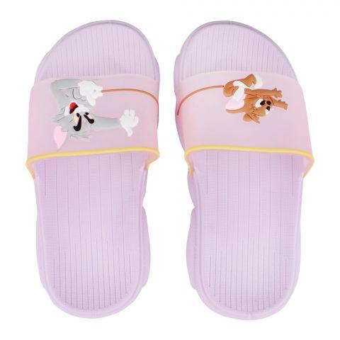 Kid's Slippers, G-22, Purple