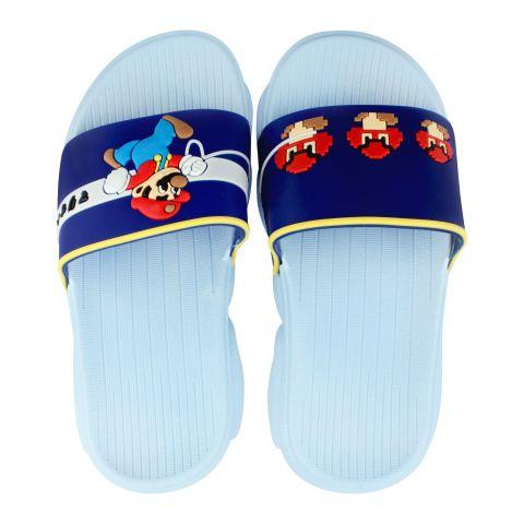 Kid's Slippers, G-24, Blue