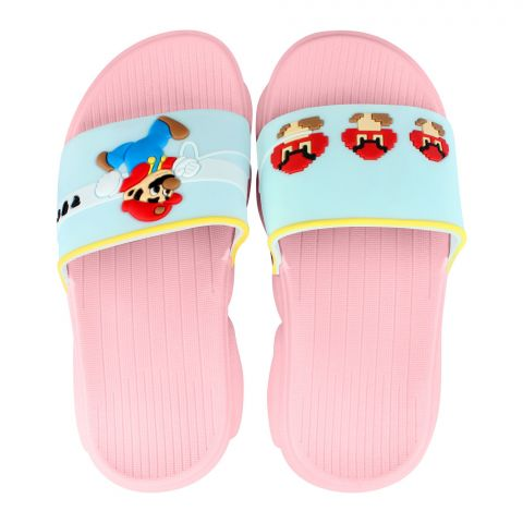 Kid's Slippers, G-24, Pink