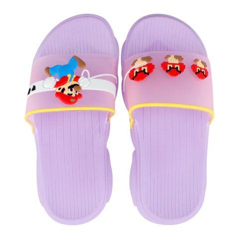 Kid's Slippers, G-24, Purple