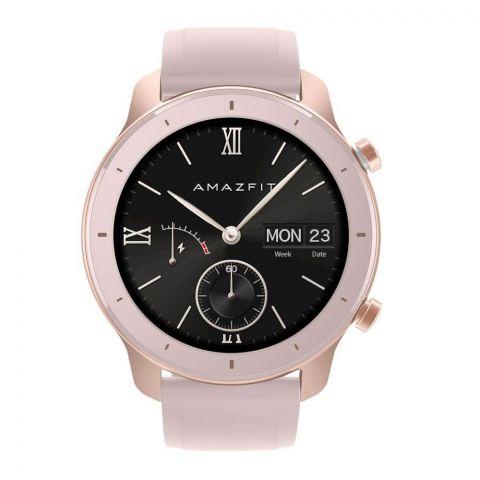Amazfit GTR Smart Watch, 42mm, Cherry Blossom Pink, A1910