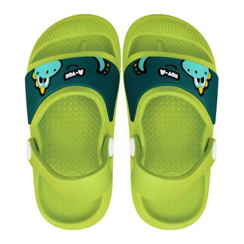 Kid's Crocs Sandal, G-30, Green
