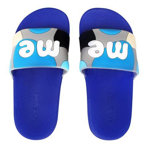 Kid's Slippers, G-25, Blue
