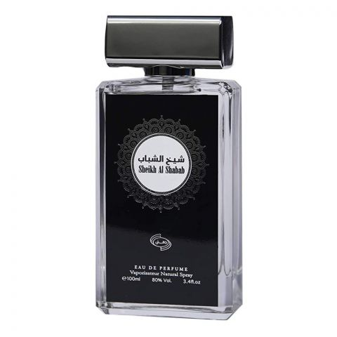 Dehnee Sheikh Al Shabab Eau De Parfum, Fragrance For Men, 100ml