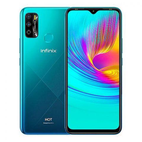 Infinix Hot 8 4GB/64GB Smartphone, Quetzal Cyan