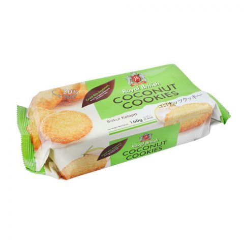 Royal British Coconut Cookies, 160g