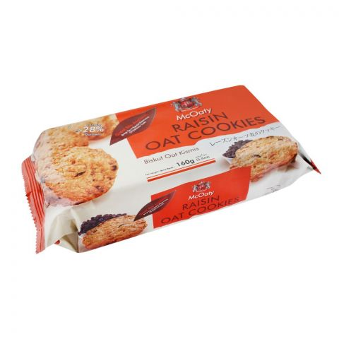 McOaty Raisin Oat Cookies, 160g